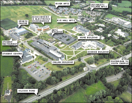 map of maynooth campus Nuim Math Physics Maps map of maynooth campus